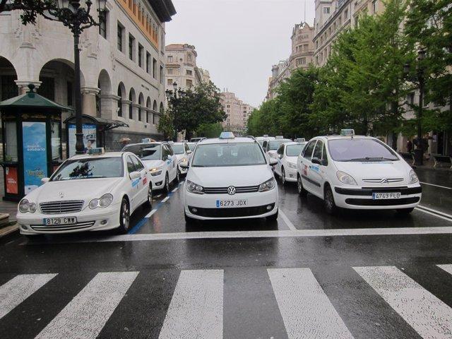 Taxis Concentrados En Santander