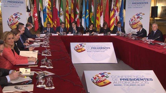 Arranca la VI Conferencia de Presidentes