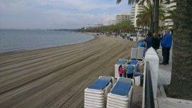 Aplazan una semana la cita entre Costas y el Ayuntamiento de Marbella para tratar la instalación de espigones