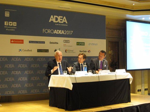 García-Margallo, este miércoles en el Foro ADEA en Zaragoza