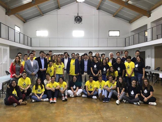 Juan Marín en el Encuentro del Alumnado Investigador