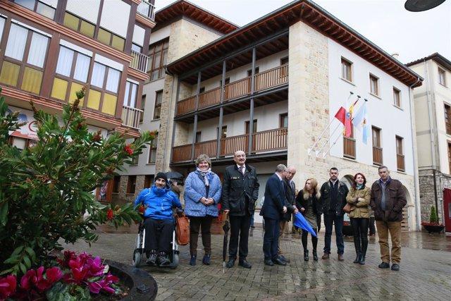 Inauguración del nuevo edificio municipal