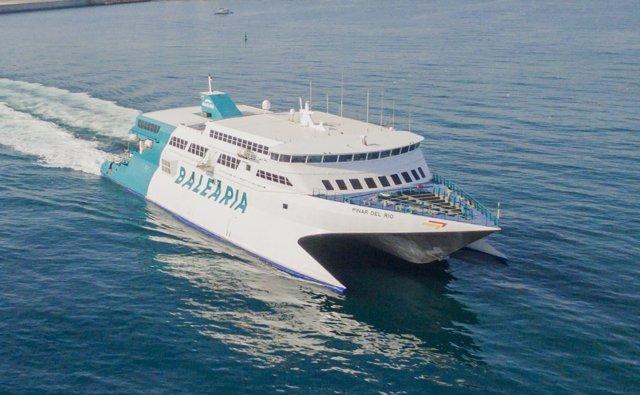 Pinar del rio balearia melilla málaga almería ferry barco