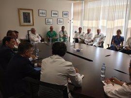 Sáez Aguado no acepta la dimisión de la responsable del Área Quirúrgica del HUBU