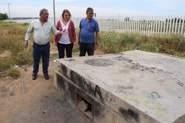 Eva Oliva visita Palmete