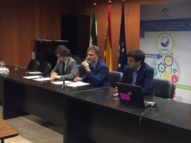 José Fiscal, durante la clausura del I Foro de Organizaciones EMAS