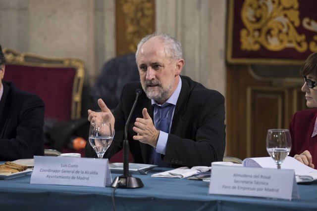 Luis Cueto, coordinador general de la Alcaldía