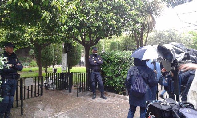 La Policía Nacional registra un piso de Jordi Pujol Ferrusola en Barcelona