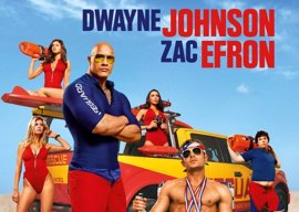 Dwayne Johnson y Zac Efron gobiernan la arena en el nuevo póster de 'Baywatch: Los vigilantes de la playa'