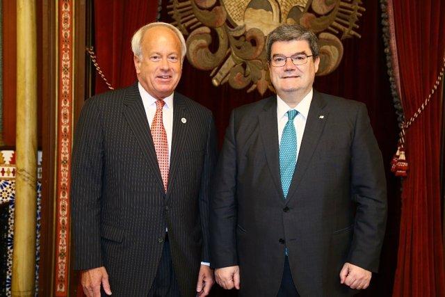 Los alcaldes de Virginia Beach y Bilbao