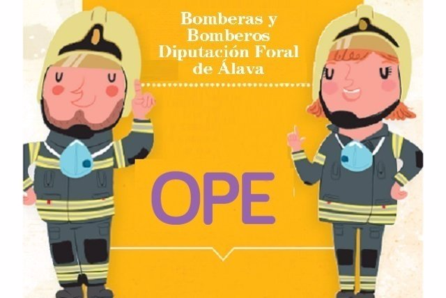 Cartel anuncia la ope de bomberos de alava