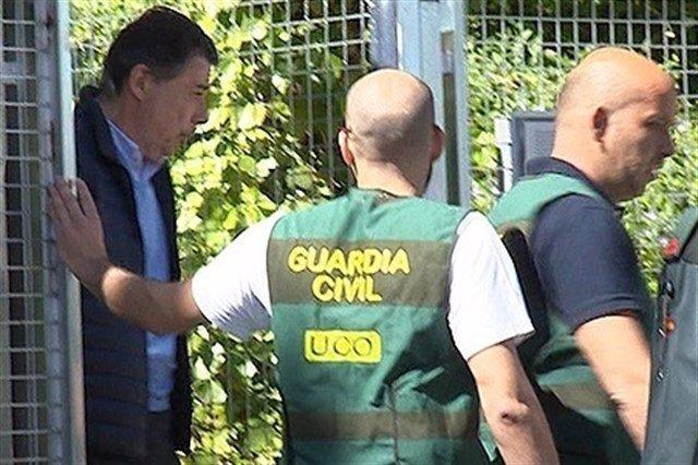 Ignacio González es detenido por la UCO