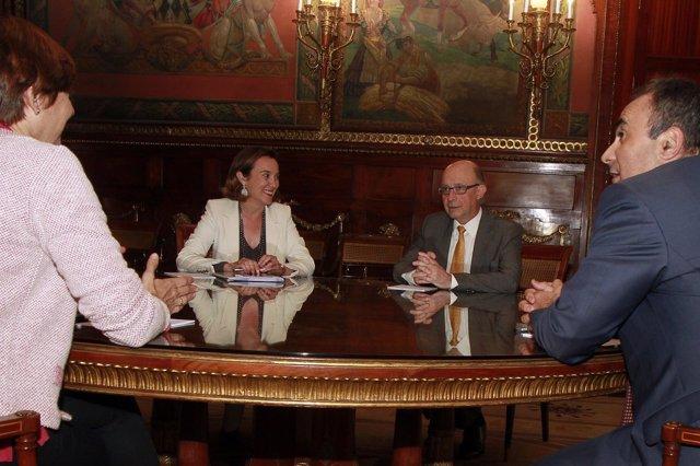 Montoro y Gamarra acuerdan cesión gratuita juzgados para el Bretón