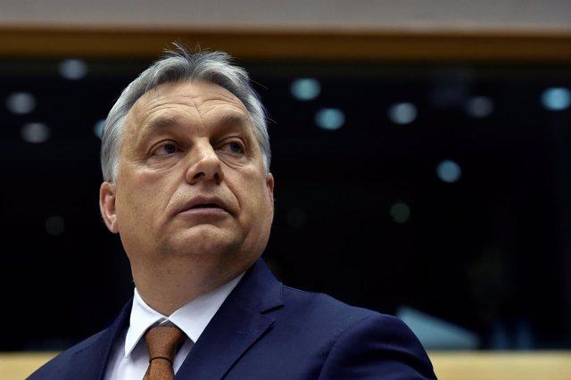 Viktor Orban en el Parlamento Europeo