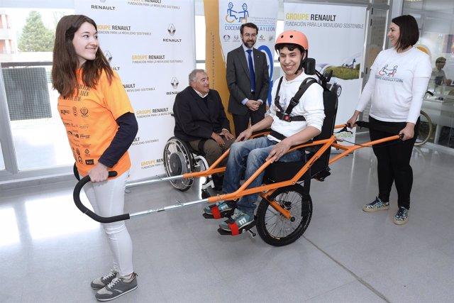 Convenio entre Fundación Renault y Cocemfe CyL.