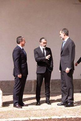Antonio Banderas y el Rey Felipe VI