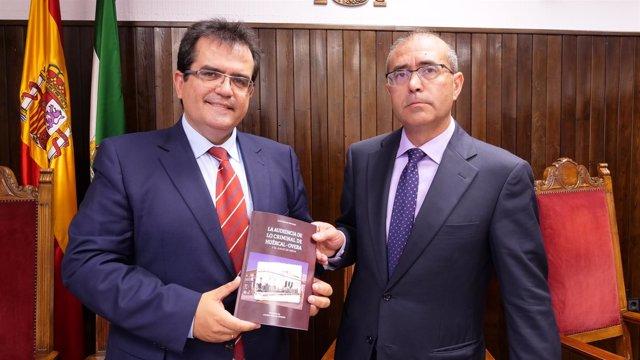 El IEA edita el libro de Juan Sánchez sobre 'La Audiencia de Lo Criminal'.