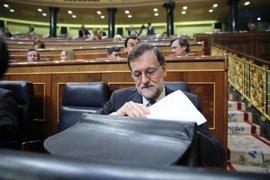 Unidos Podemos y Compromís piden un Pleno en el Congreso para que Rajoy hable de la corrupción del PP