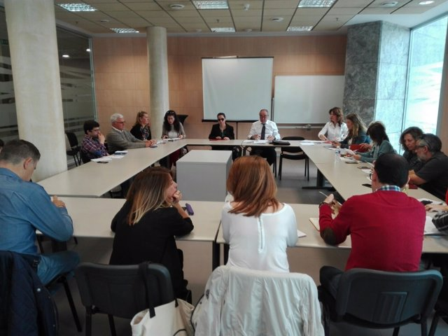 Reunión del comité ejecutivo de Cermi Andalucía
