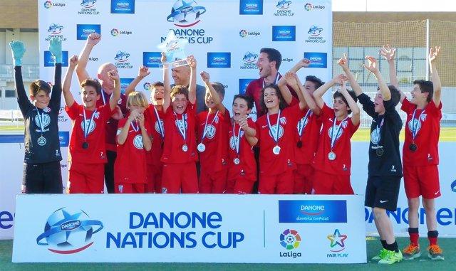 UD Santa María en la Danone Nations Cup