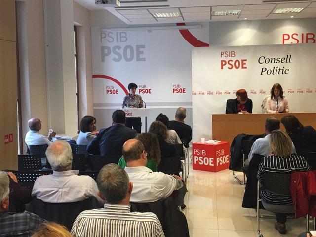 Consejo político de los Socialistas de Mallorca