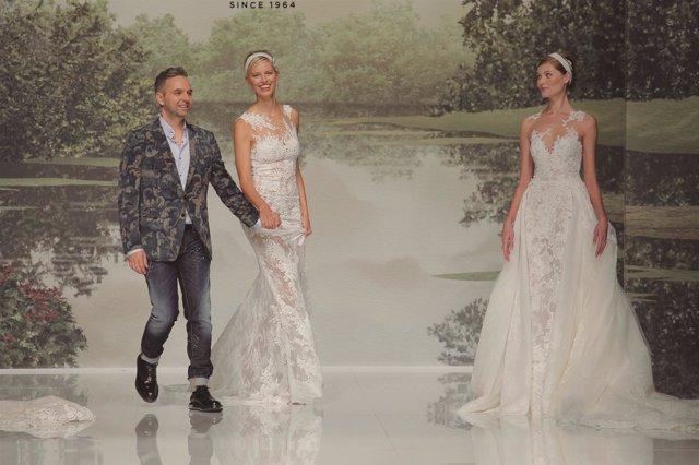 Desfile de St.Patrick en la Barcelona Bridal Fashion Week