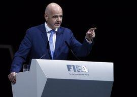 """Infantino asegura que la FIFA presenta una """"sólida"""" situación financiera pese a las pérdidas"""
