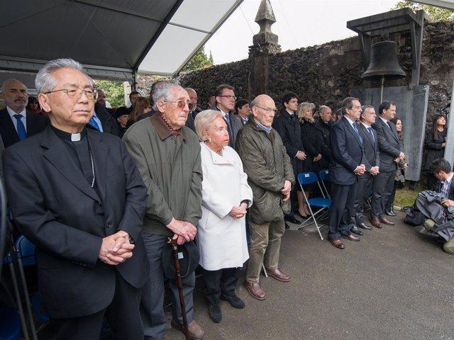 Recuerdo a las víctimas del bombardeo de Gernika