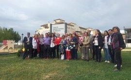 El PSOE y la Asociación de Memoria Histórica rinden homenaje a los ocupantes de la fosa de La Palma