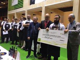 Alberto Montes, del restaurante Atrio de Cáceres, Premio Internacional de Cocina con AOVE 'Jaén, paraíso interior'