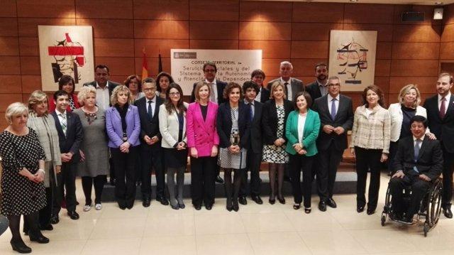 Reunión Del Consejo Territorial De Servicios Sociales Y Dependencia