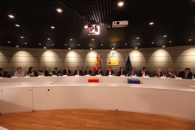 Reunión del Ministerio de Ocupación y Seguridad Social y las CCAA