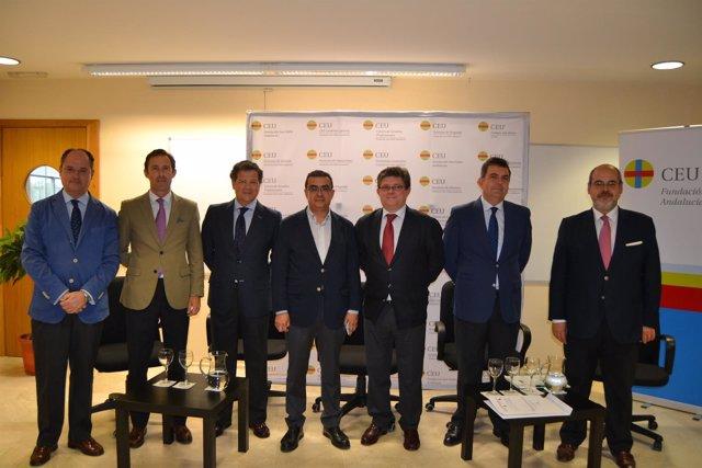 CEU Andalucía acoge una mesa redonda sobre el futuro de las hermandades