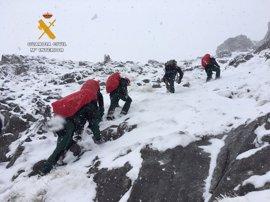 El GREIM confía en poder rescatar hoy los cuerpos de los montañeros fallecidos en Picos de Europa