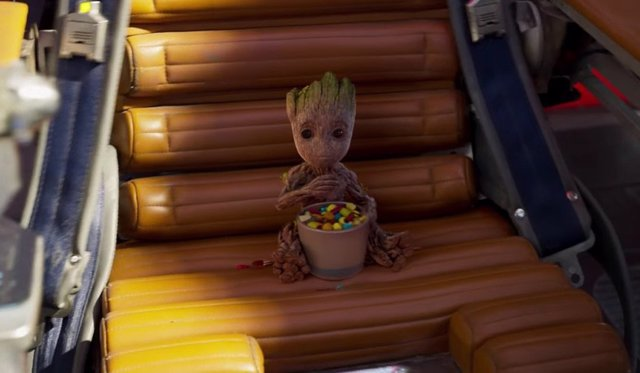BABY GROOT en Guardianes de la Galaxia vol.2