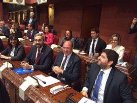 Arranca el Debate de Investidura de López Miras como presidente de Murcia