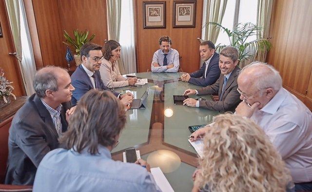 Reunión entre administraciones