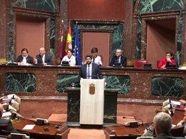 López Miras defiende reparación de daños para cualquier cargo político sea del partido que sea cuando se archive proceso