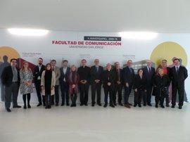 La USJ acoge el décimo encuentro de decanos de las Facultades de Comunicación vinculadas con la Iglesia