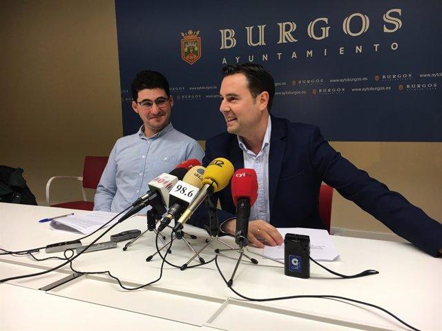 De izquierda a derecha Raúl Salinero y Daniel de la Rosa.