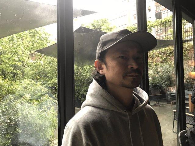 El artista Daito Manabe