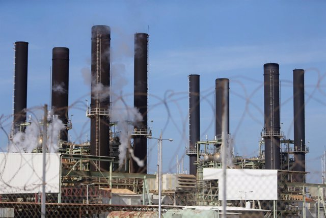 Central eléctrica de Gaza