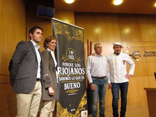 Presentación tercera jornada del aceite riojano