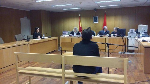 Juicio de violencia de género en la Audiencia de Madrid