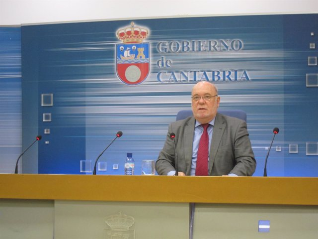 Juan José Sota, consejero de Economía de Cantabria