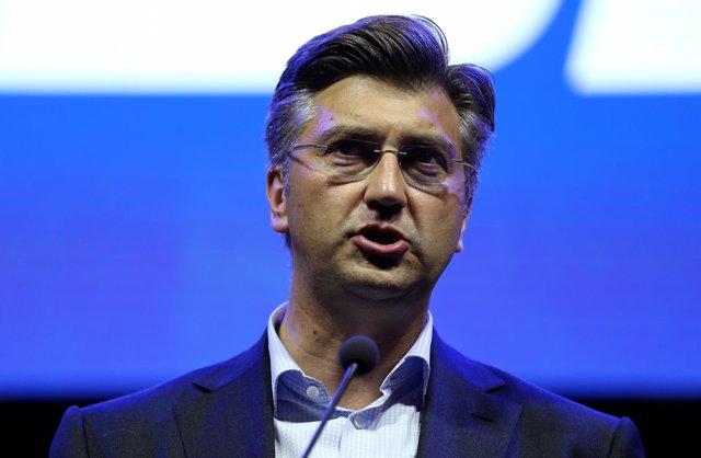 El líder del HDZ, Andrej Plenkovic