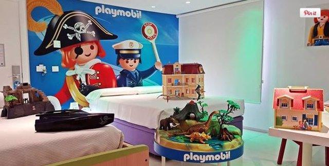 Habitación Playmobil del Hotel del Juguete