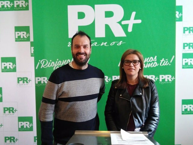 Oscar Fernández y Raquel Recio