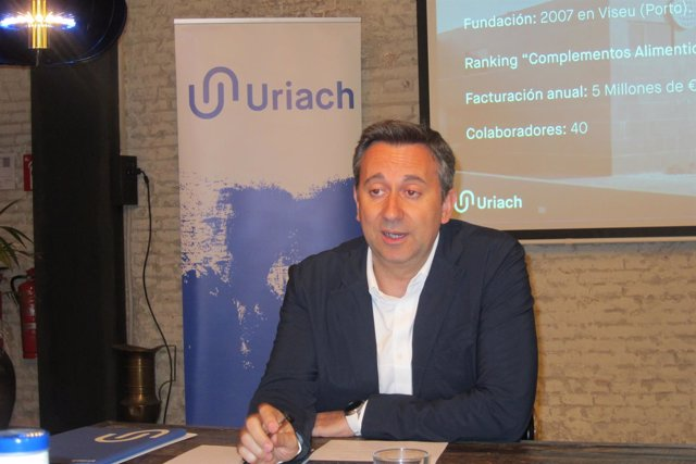 El consejero delelgado de Uriach O.Segarra