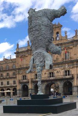 'Gran Elefante' En La Plaza Mayor De Salamanca
